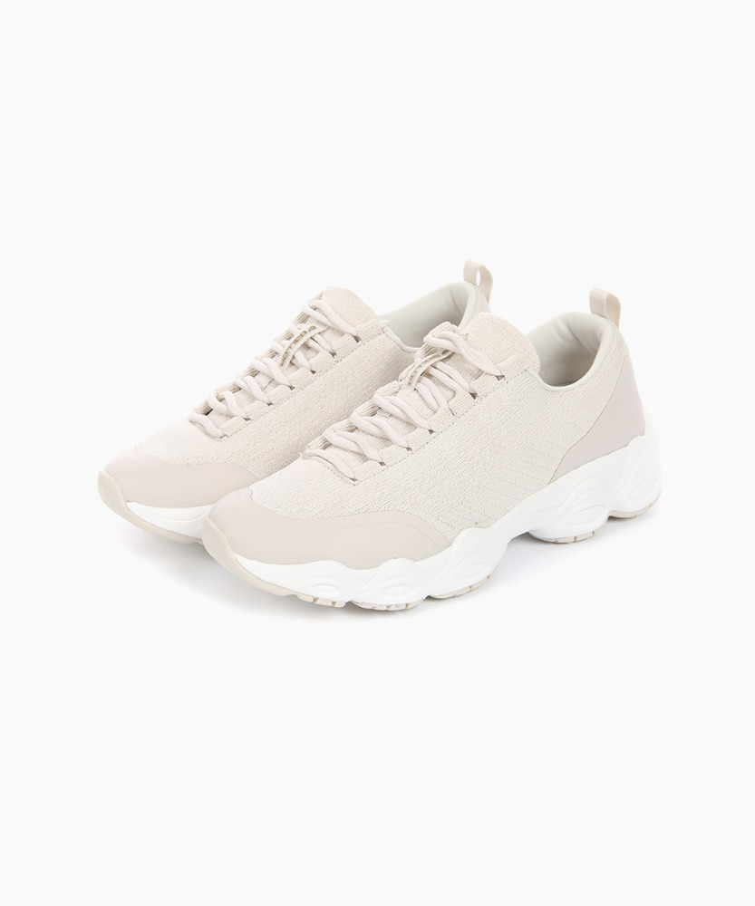 Ballop Women's In-Tempo Run Sneakers [Beige]
