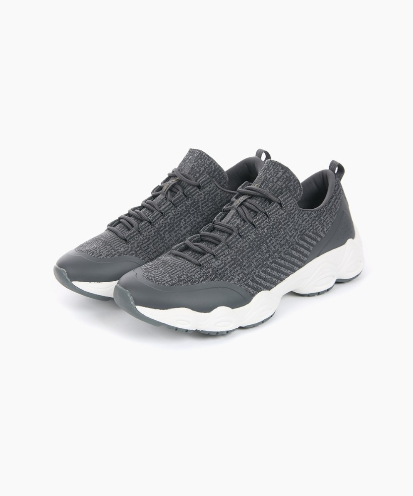 Balllop Men's In-Tempo Run Sneakers [Charcoal]