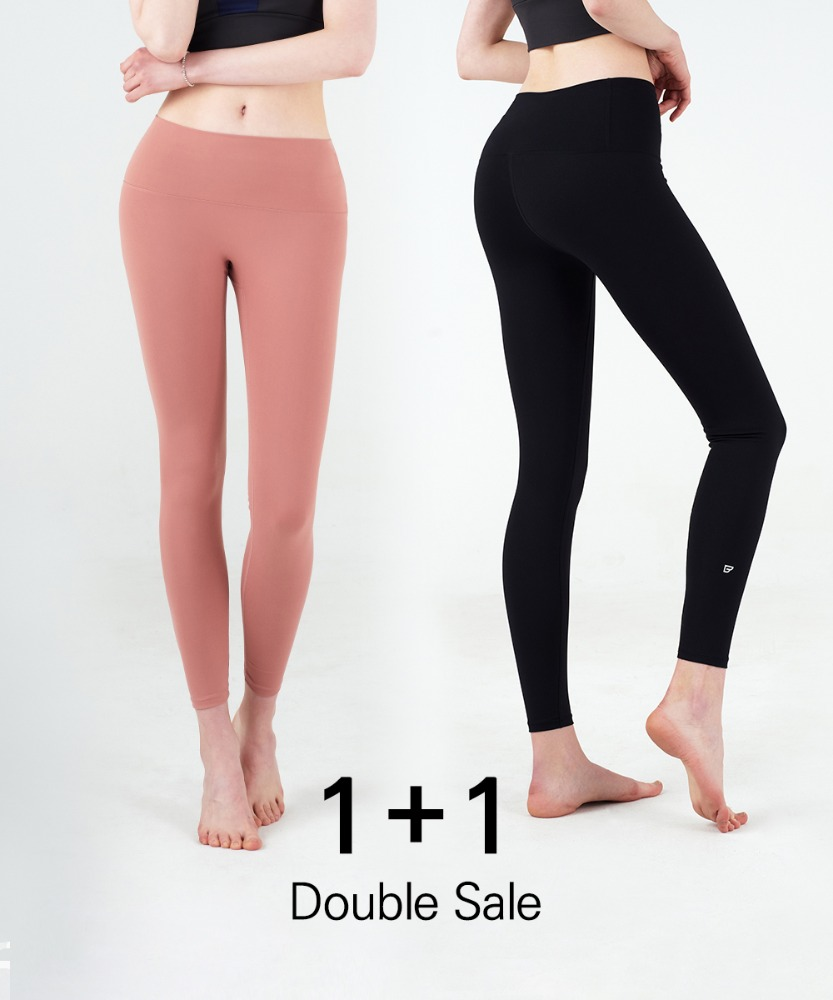 Signature Yoga High Ankle Leggings 1+1 Set