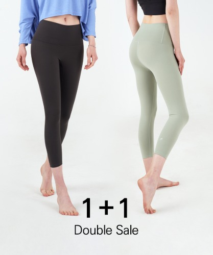 Signature Creora #7 Crop Leggings 1+1 Set